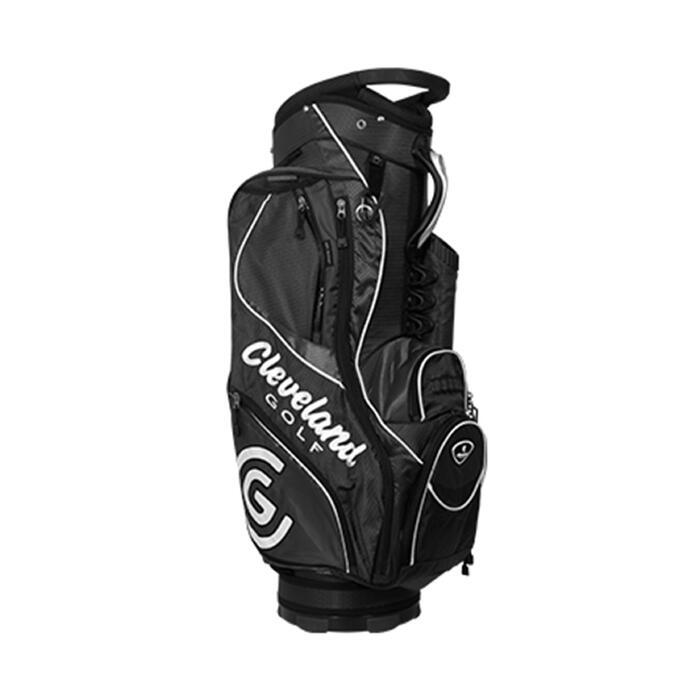 Sac de golf chariot CG noir blanc - 48086