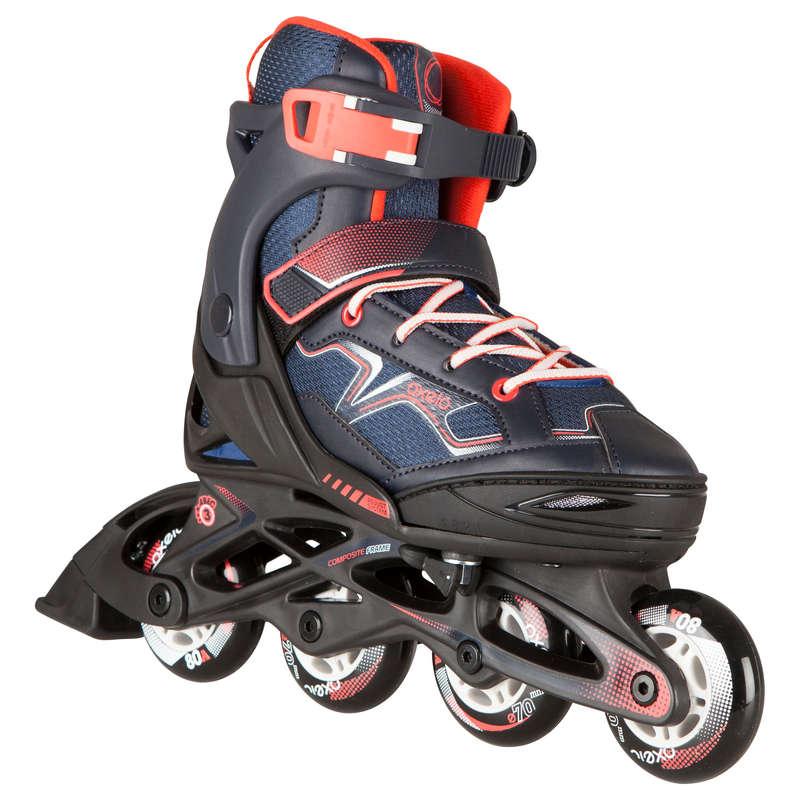 CHILDREN INLINE SKATE - Fit 3 Kids' Inline Skates OXELO