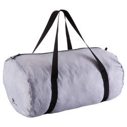 Foldable Fitness Duffle Bag 30L - Mottled Grey