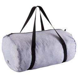 c8272b7436bb Medium Fold-Down Barrel Gym Bag - Mottled Grey