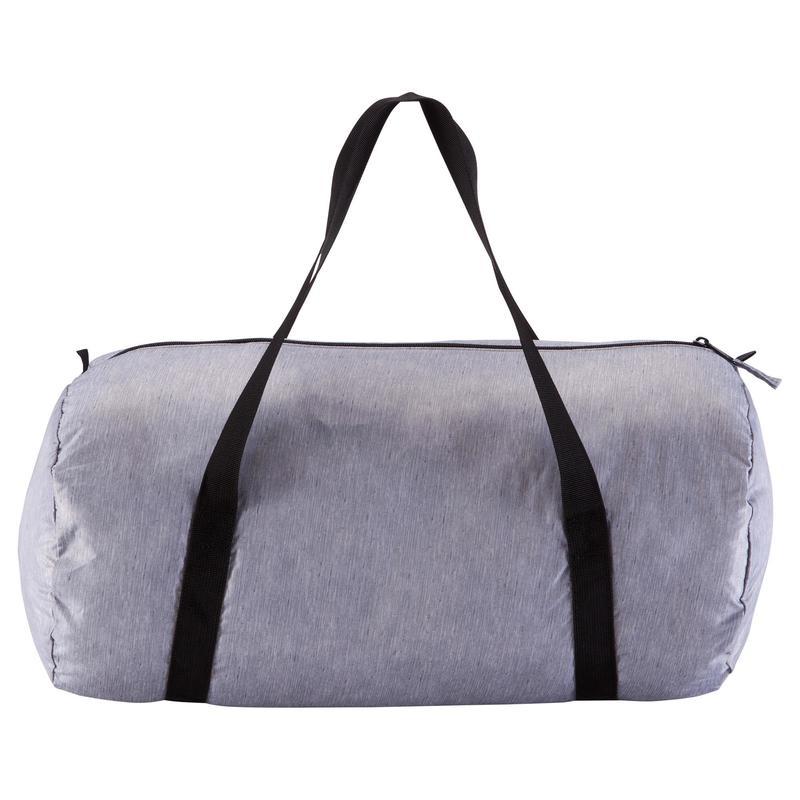 fe97f950cf49 Medium Fold-Down Fitness Barrel Bag - Mottled Grey