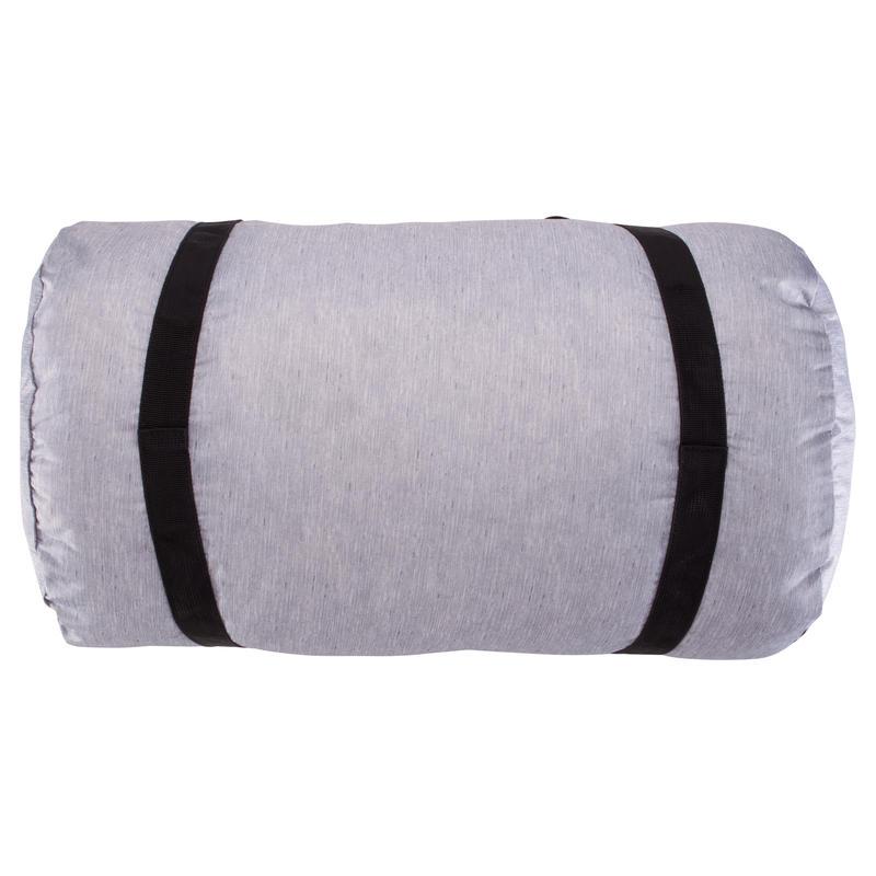 Sac tube pliable Medium fitness gris chiné