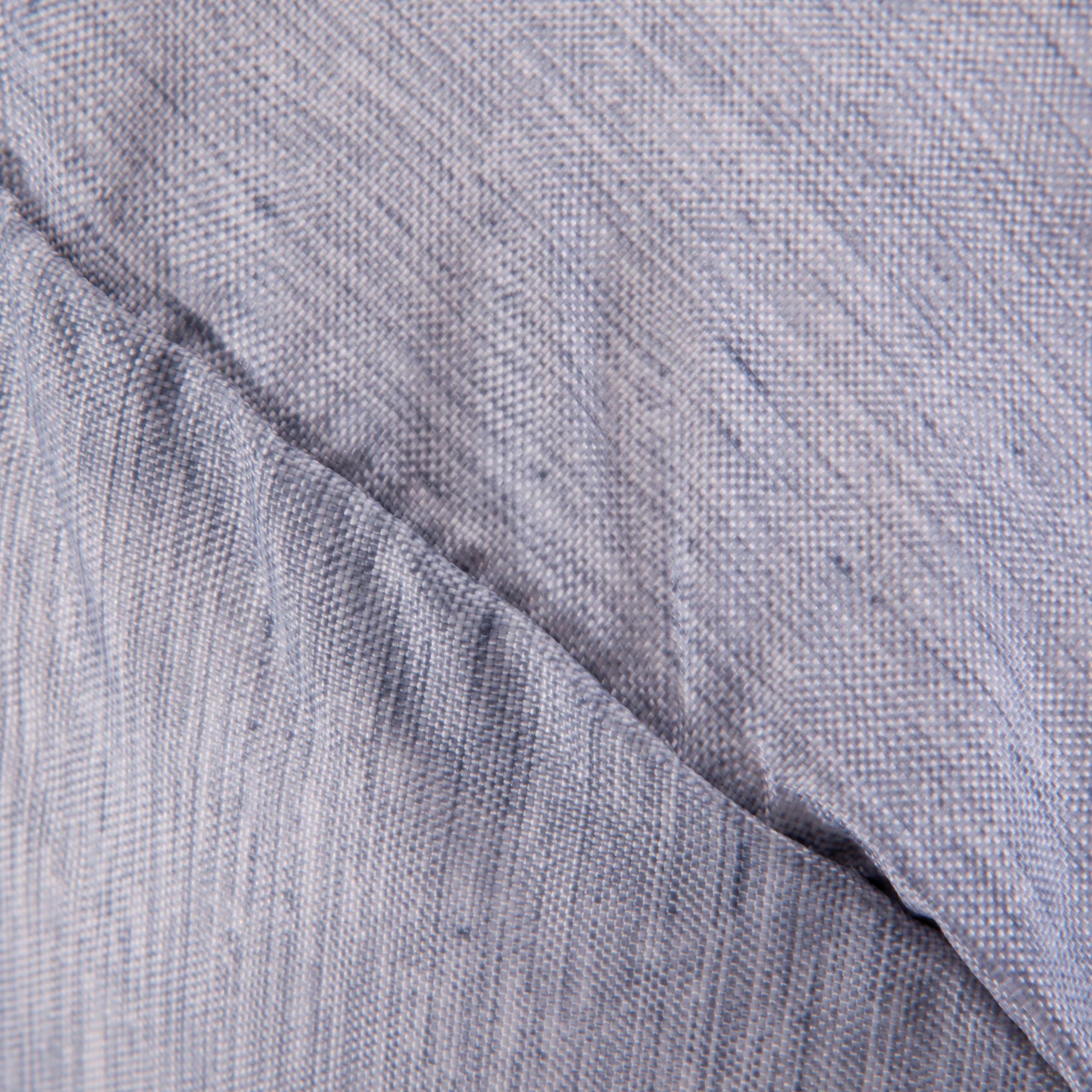Medium Fold-Down Barrel Gym Bag - Mottled Grey