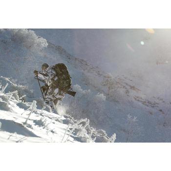 Chaqueta Caza Solognac Bgp 300 Impermeable Calida 3 en 1 Camuflaje Nieve