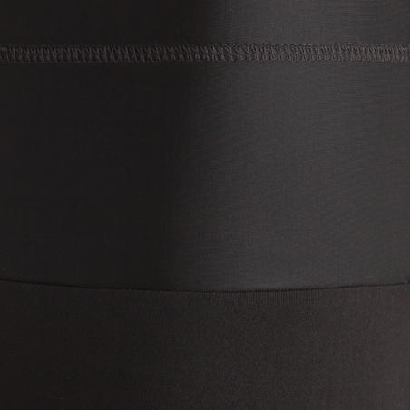 Shape+ Women's Fitness Flat-Stomach Cropped Bottoms - Black