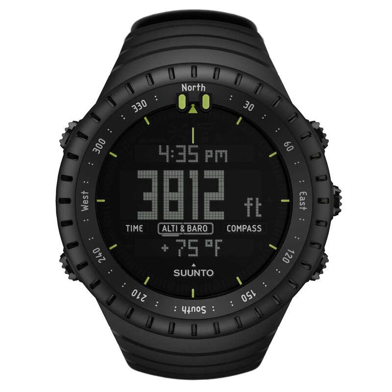 ALTIMETER OR TREKKING GPS Turystyka - Zegarek wysokościomierz kompas SUUNTO - Turystyka BLACK