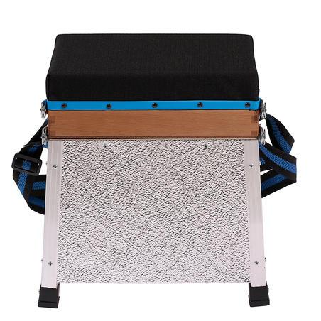 Single tray Jr still fishing seat box