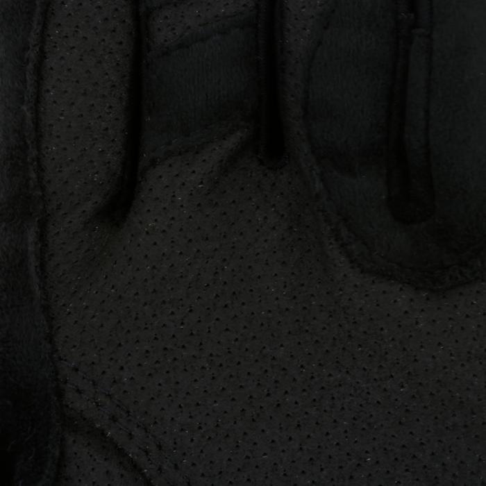 Gants équitation femme HEXAGIRLS noir