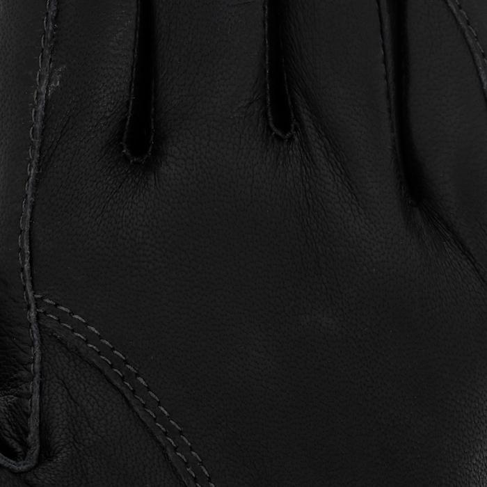 Paardrijhandschoenen PRO'LEATHER voor volwassenen - 4848