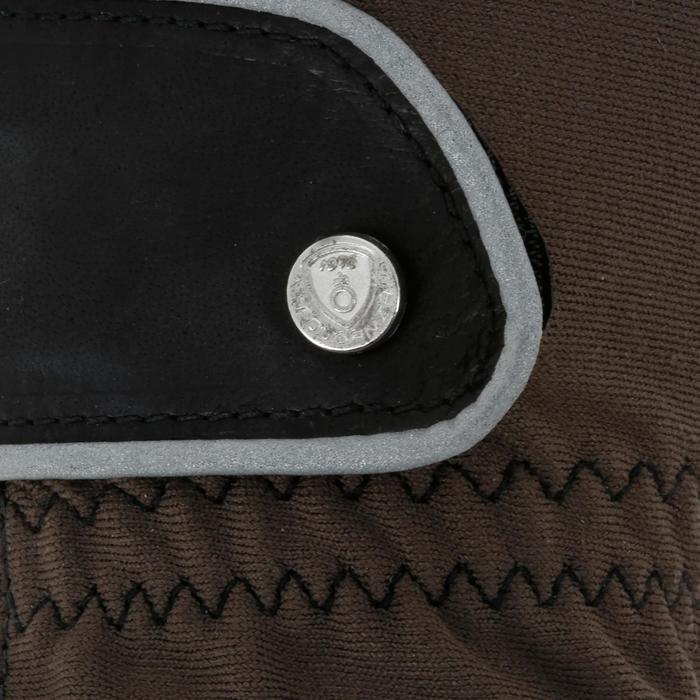 Paardrijhandschoenen PRO'LEATHER voor volwassenen - 4850
