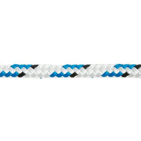 Braidline Sailing Line/Rope 10 mm x 20 m - White/Blue