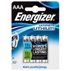 Set van 4 Energizer-batterijen AAA-LR3 Lithium