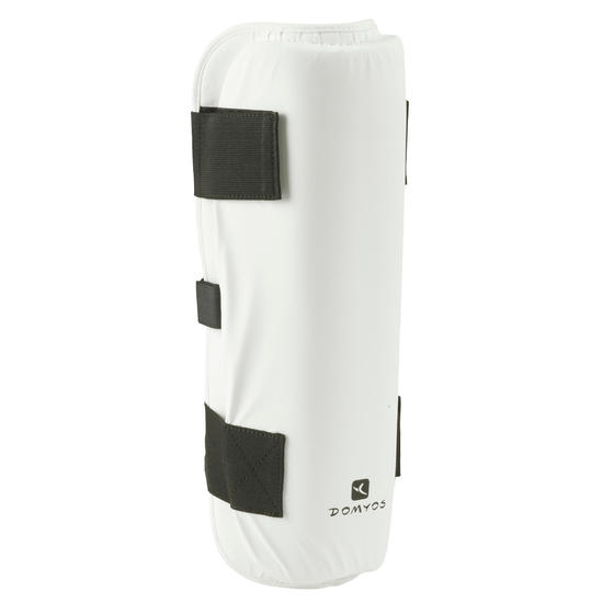 Scheenbeschermer voor boksen of martial arts wit - 485642