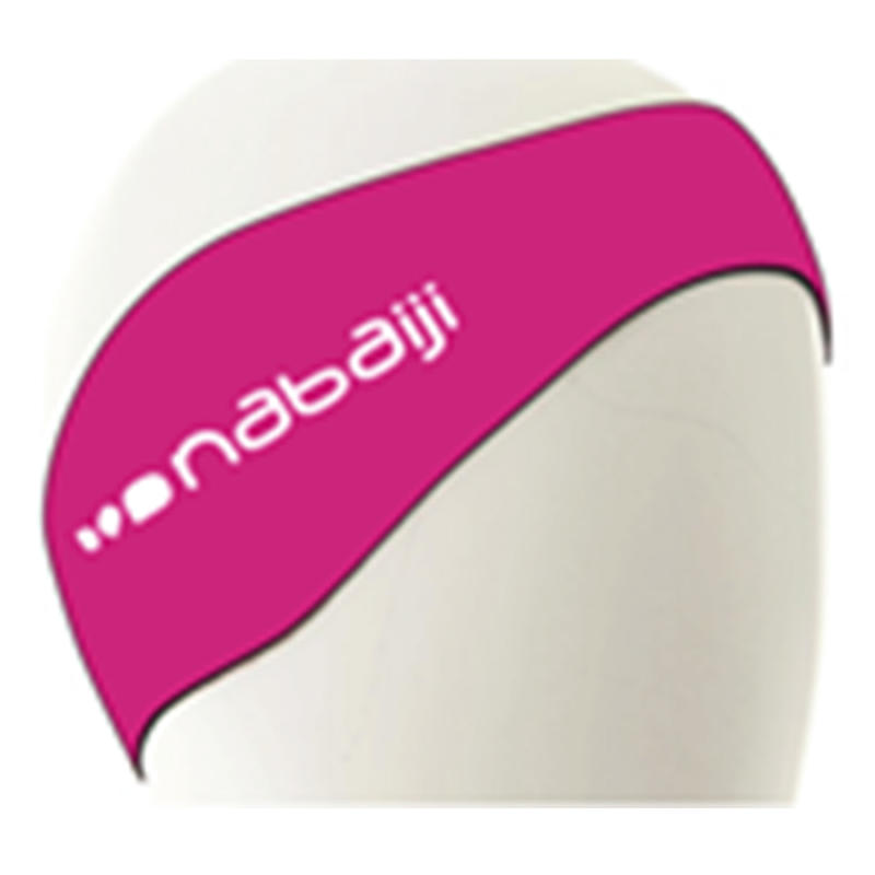 NEOPRENE EAR PROTECTION SWIMMING BAND - PINK