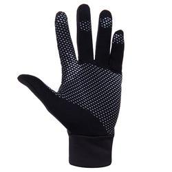 Warme tennishandschoenen zwart
