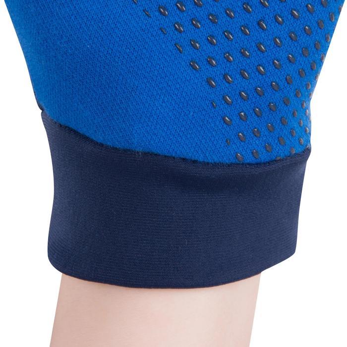 Warme tennishandschoenen voor kinderen marineblauw