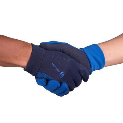Kids' Thermal Tennis Gloves - Navy