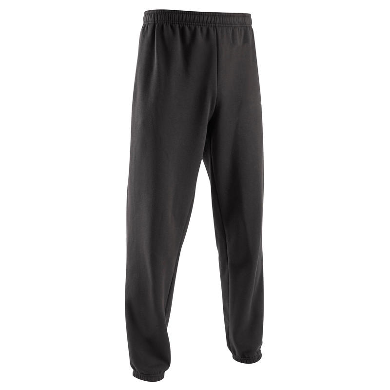 T100 Kids' Training Bottoms - Black
