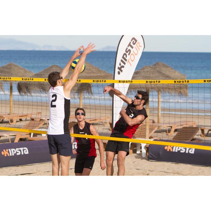 Filet de beach-volley BV700 jaune - 489658