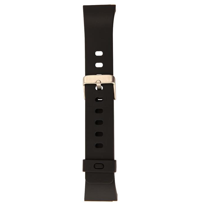 Horlogebandje Strap M Swip zwart