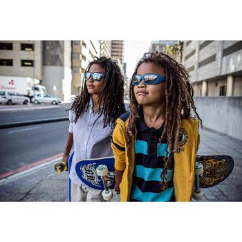 Lunettes de soleil de randonnée enfant 7-9 ans TEEN 300 noires catégorie 4 - 491893