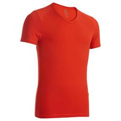 Tee-shirt col V...