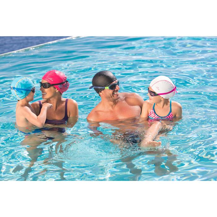 Lunettes de natation EASYDOW Taille L noir vert