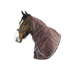 Waterdichte neckcover Allweather Light ruitersport paard bruin - 494035