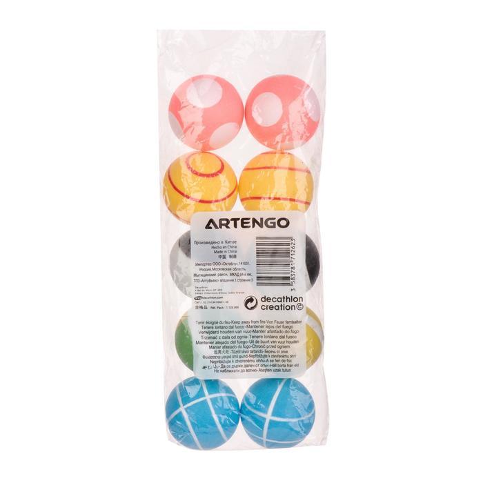 ARTENGO FB 800 table tennis training ball x 10 - 495829