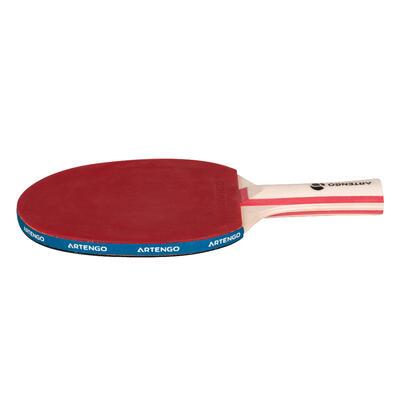 Набір для настільного тенісу в приміщенні: 2 ракетки FR 130 / PPR 130 і 3 м'ячі.