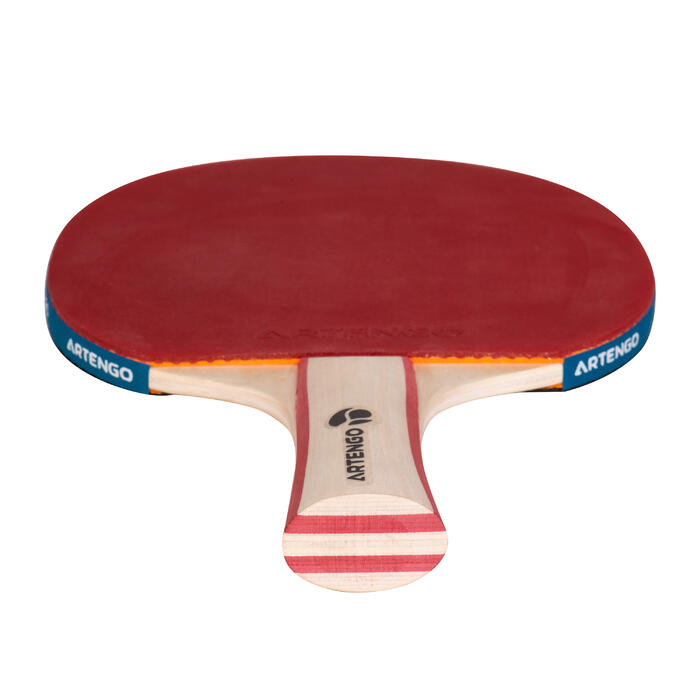 SET TENNIS DE TABLE FREE DE 2 RAQUETTES FR 130 / PPR 130 2* INDOOR ET 3 BALLES - 496239