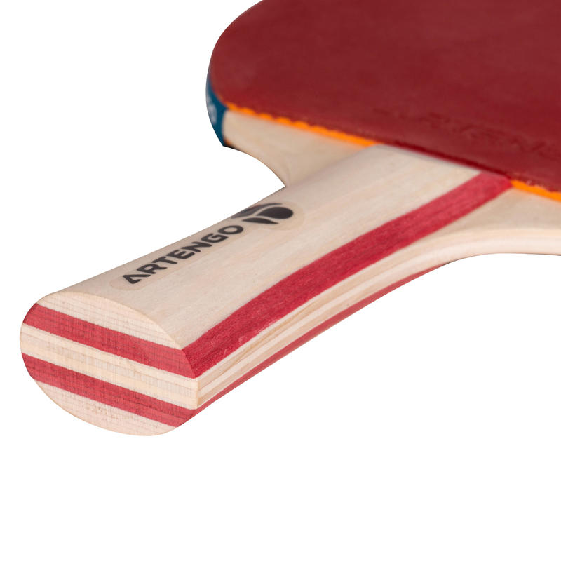 Free Table Tennis Set: FR130 / PPR 130 Indoor Set of 2 Bats + 3 Balls