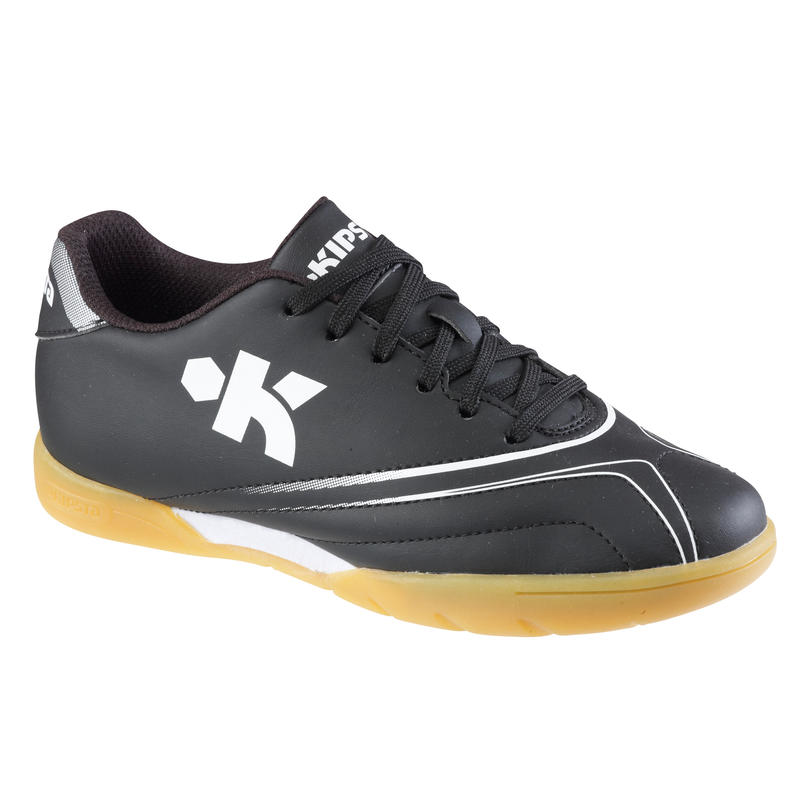 Agility 300 Junior Futsal Trainers - Black/White