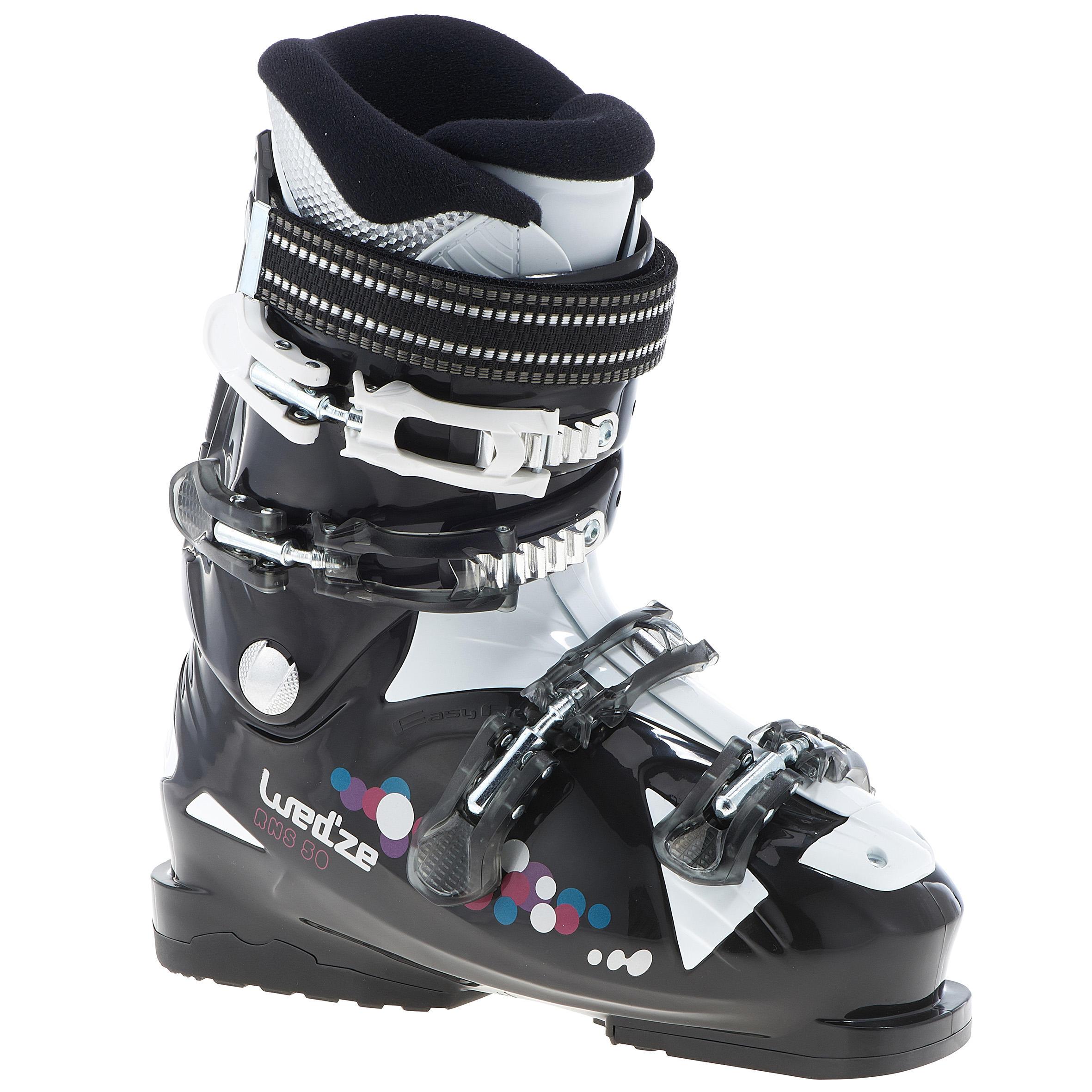 Wed'ze RNS 50 light women's ski boots - Black
