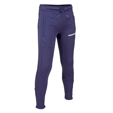 T500 Junior Training Sweatpants - Tapered Fit Blue