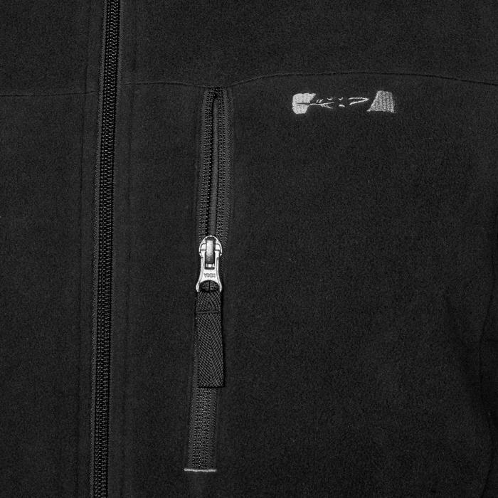 Jagdfleecejacke 300 schwarz