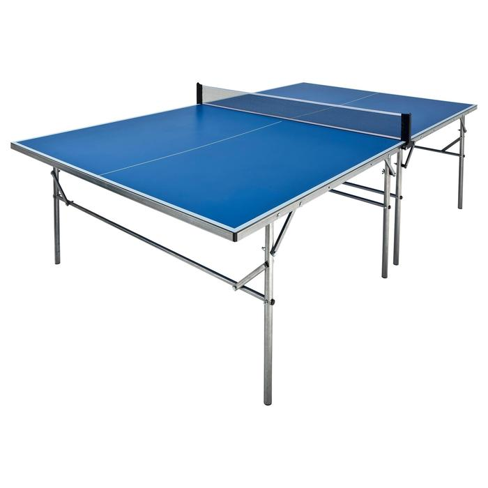 Tischtennisnetz verstellbar Tischtennisplatte Artengo FT720 Outdoor