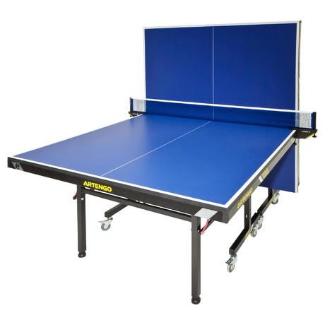 ft950 fftt approved table tennis table - blue | artengo
