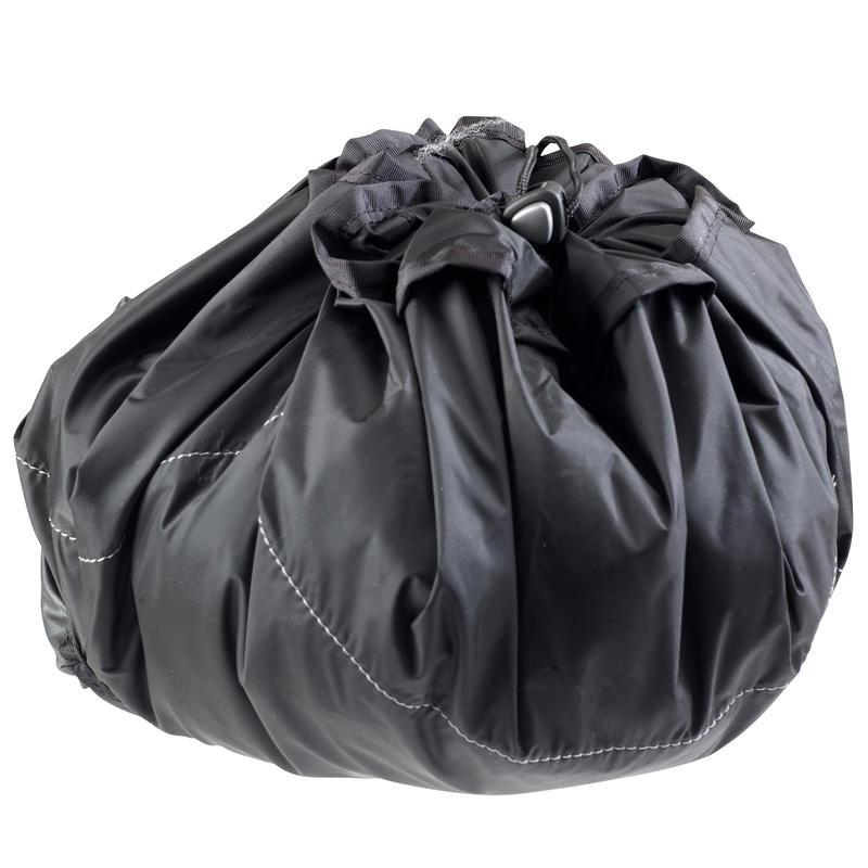 Bolso de fitness negro PTWO