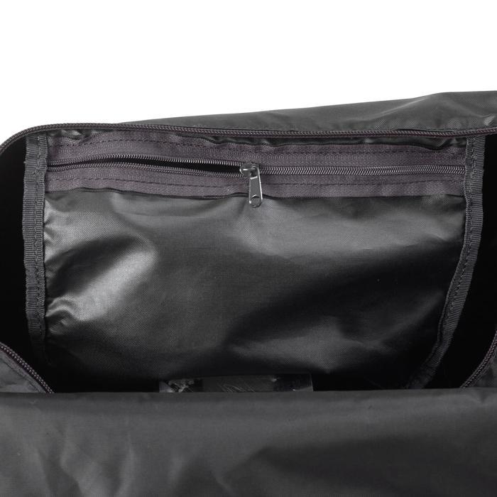 可摺疊有氧健身包30 L-黑色