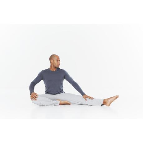 Herenbroek voor rustige gym of yoga b7a889984ba
