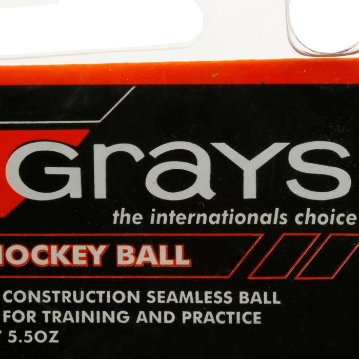 Pelota de Hockey sobre hierba Club training blanca