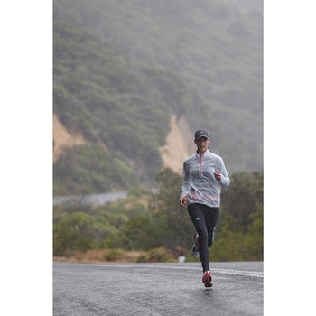 Verstelbare regenpet voor hardlopen zwart 55-63 cm