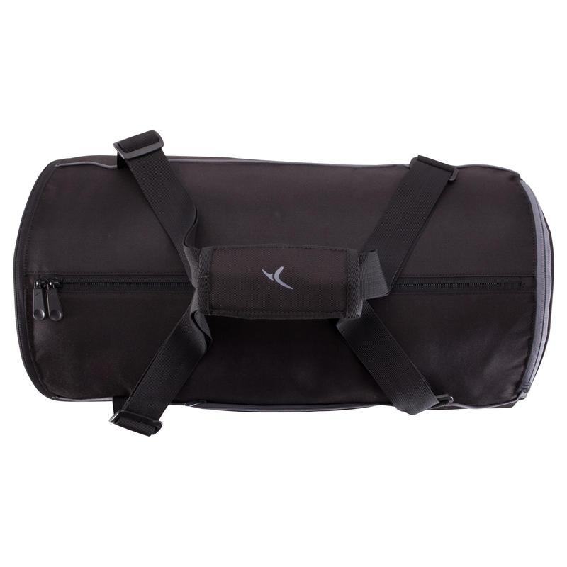 Bolso tubular de fitness negro M