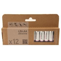 Pakje 12 batterijen LR06-AAA 1,5V