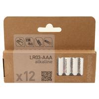 Lote de 12 pilas AAA-LR03 1.5V