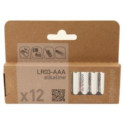 Batterie LR03 - AAA 12Stück