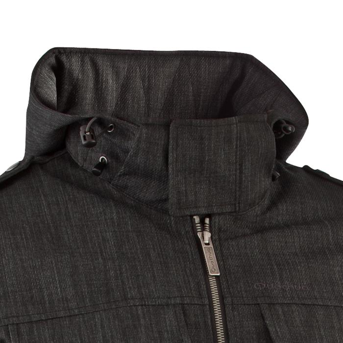Veste de randonnée neige homme SH500 x-warm gris carbone. - 506357