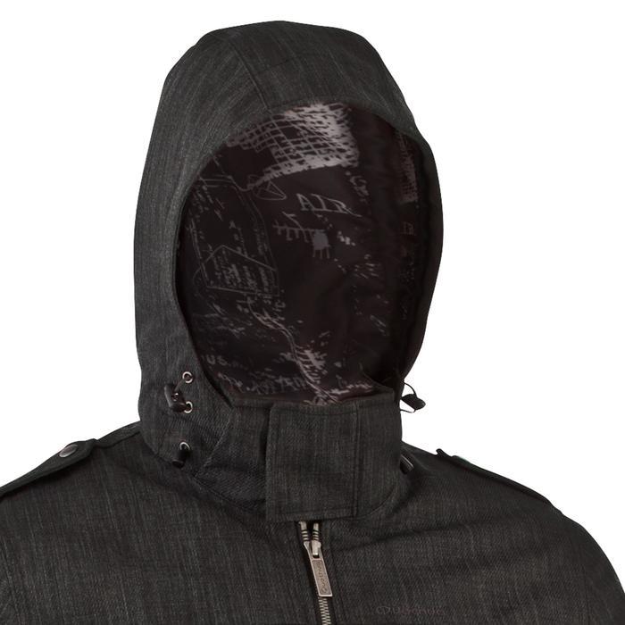 Veste de randonnée neige homme SH500 x-warm gris carbone. - 506359