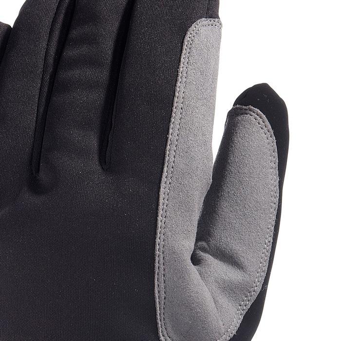 Gant ski de fond loisir chaud noir - 506382
